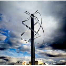 Antena tipo QFH para satélites