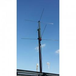 Turnstile bibanda VHF/UHF